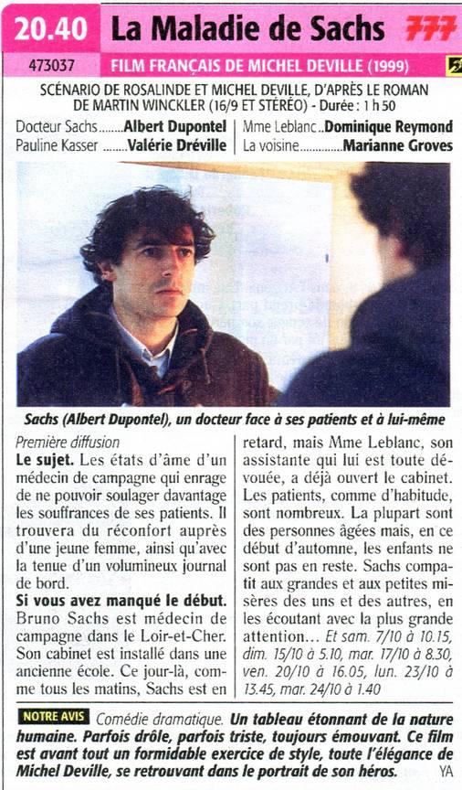 La Maladie De Sachs Film : maladie, sachs, Données, Films, Français, Images