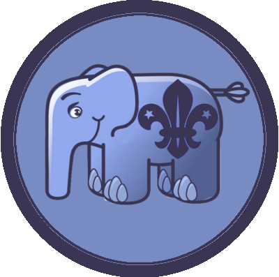 PHP Scout Membership Badge