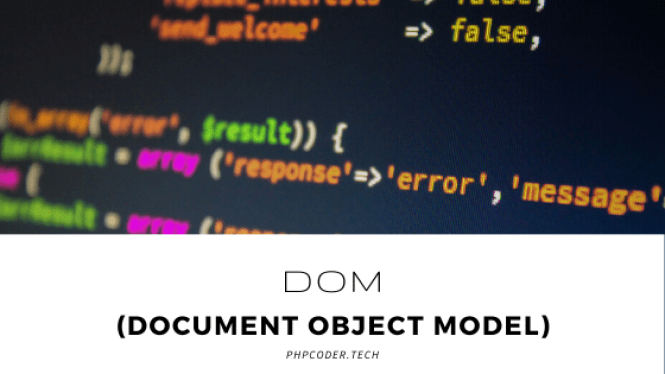 DOM(Document Object Model)