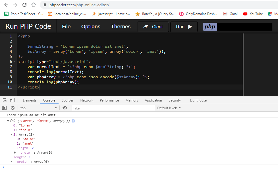 How to Set PHP Variable in JavaScript With Example - PHPCODER.TECH