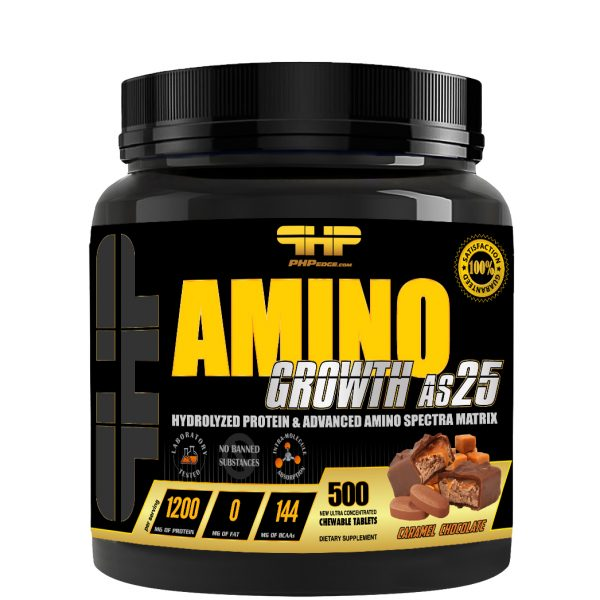 AminoGrowth-AS25-500Tabs-Chocolate