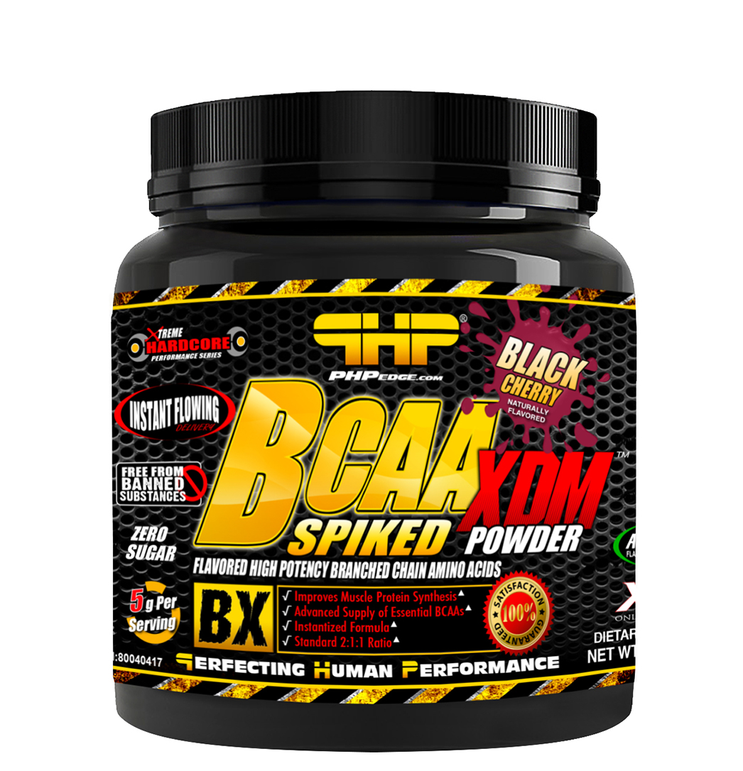 BCAA SPIKED USA 700g BLACK CHERRY