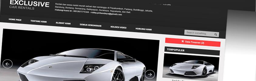 Aplikasi Rental Mobil Online responsive dengan Codeigniter, MySQL