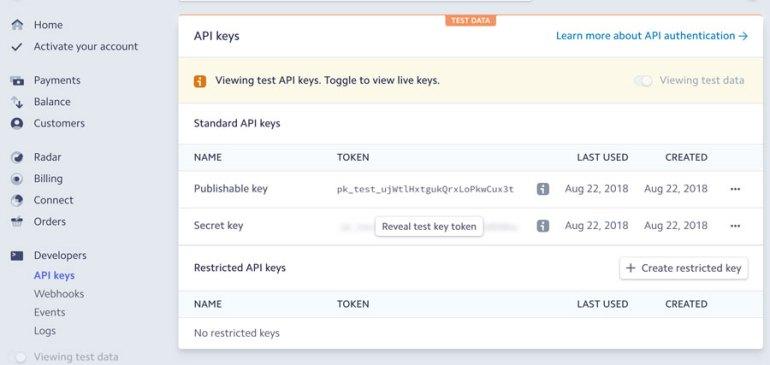 Stripe-Payment-Gateway-API-Key