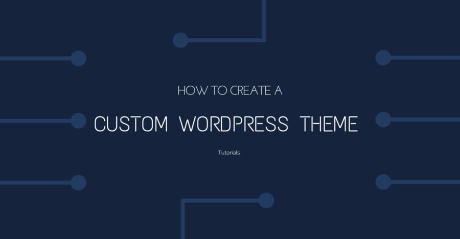 Create A WordPress Themes