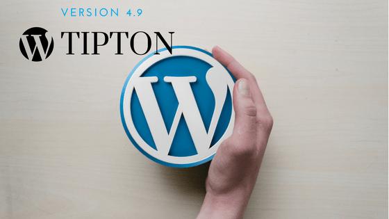 WordPress New Release 4.9