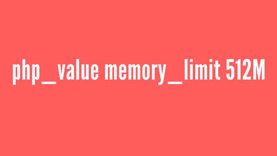 Increase WordPress Memory Limit using .htaccess