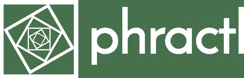 phractl logo with text white