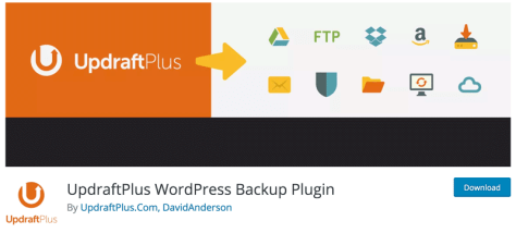 Best WordPress Plugins - Best Backup Plugin – Updraft Plus