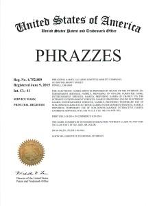 PHRAZZES Trademark