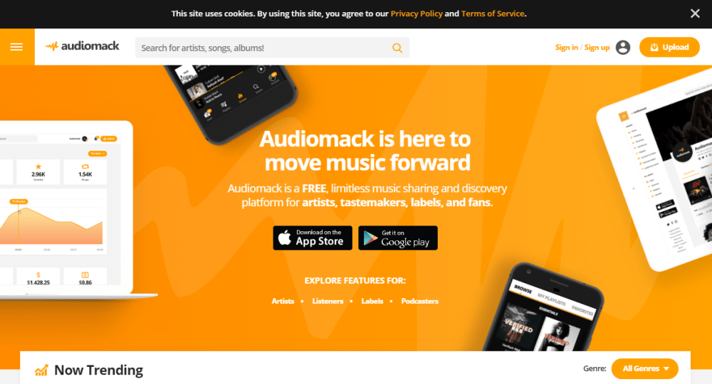 Audiomack To Download Music Albums