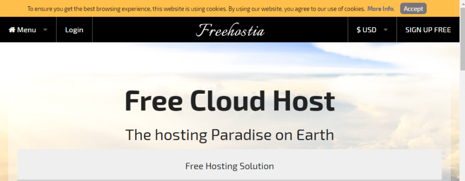 Freehostia Free WordPress Hosting