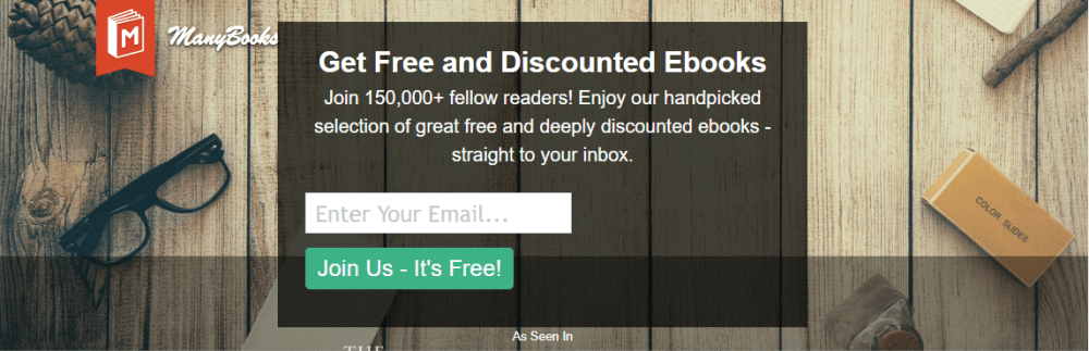 Manybooks free eBook download site