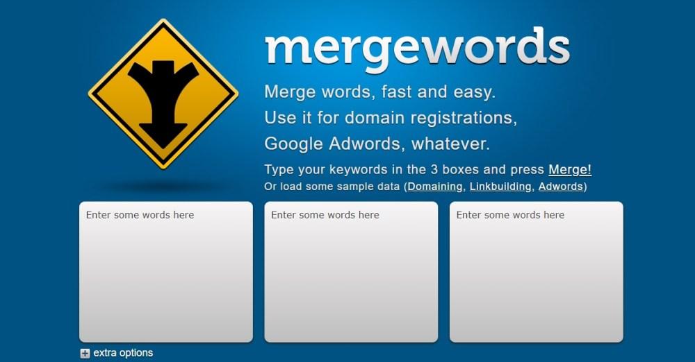 Mergewords for SEO & PPC