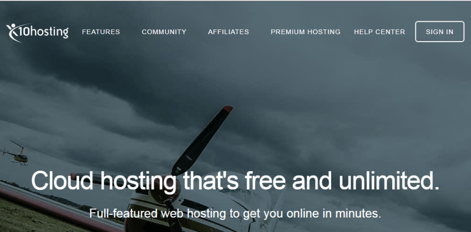 X10Hosting Free WordPress Hosting
