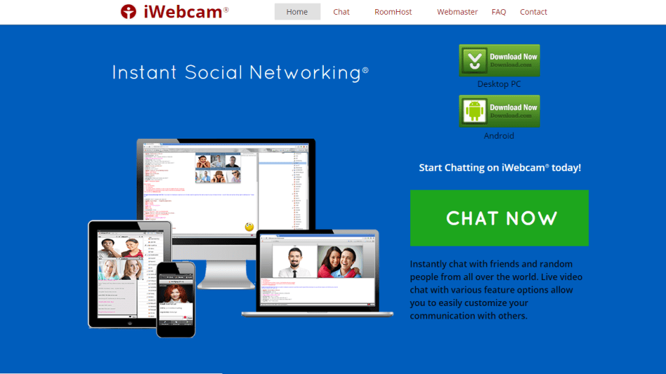 iWebCam online video chat rooms
