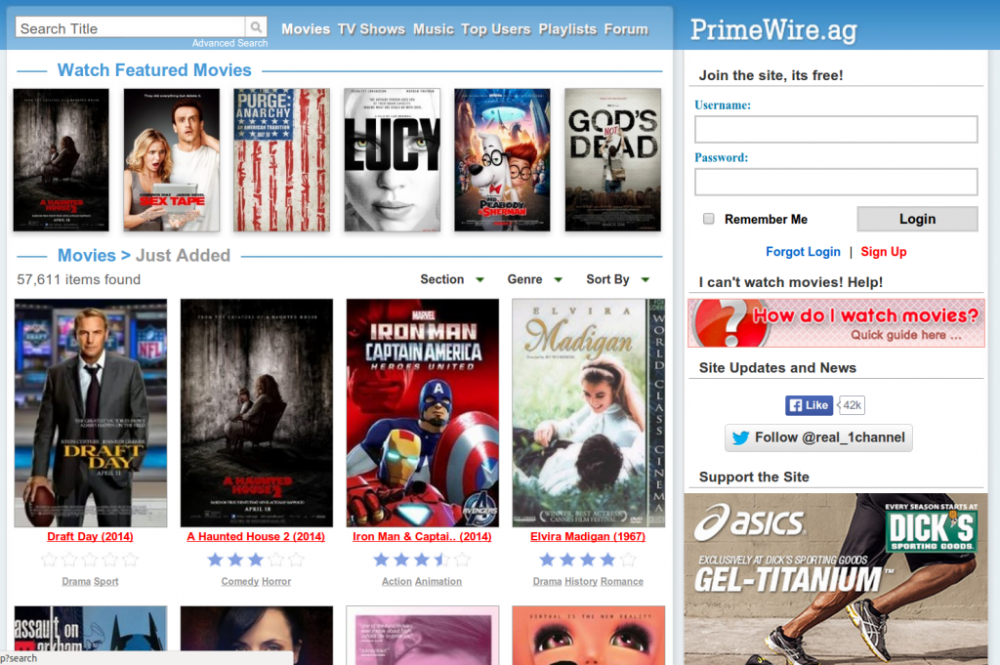 PrimeWire Watch for free