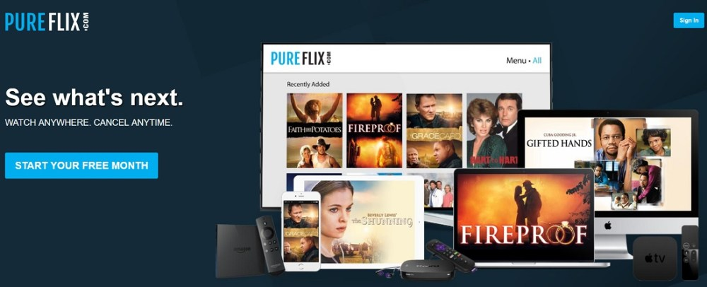 PureFlix GoStream Watch for free