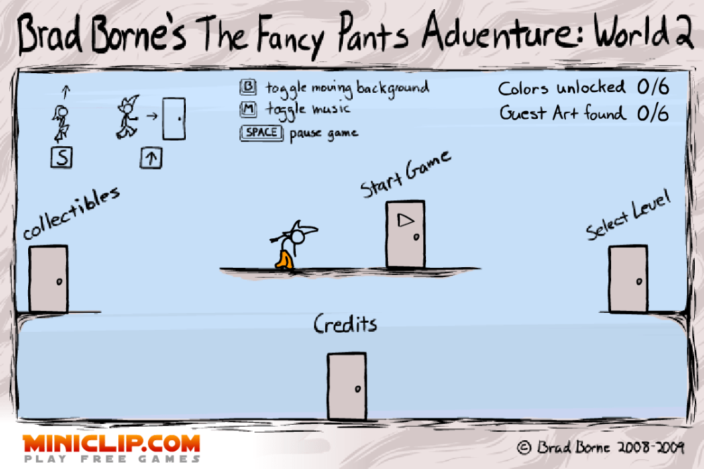 Fancy Pants Adventure 2