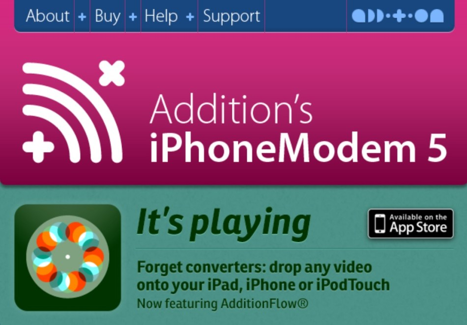 iPhoneModem – iPhone only