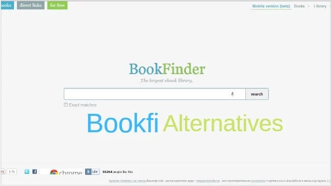 Bookfi Alterntives