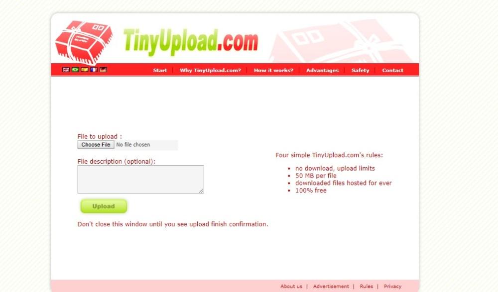 TinyUpload