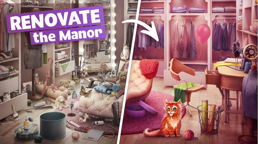 Mystery Manor- Hidden Objects