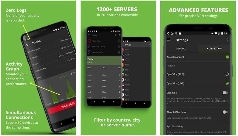 IPvanish VPN Android App