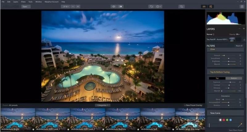 Aurora HDR Details boost