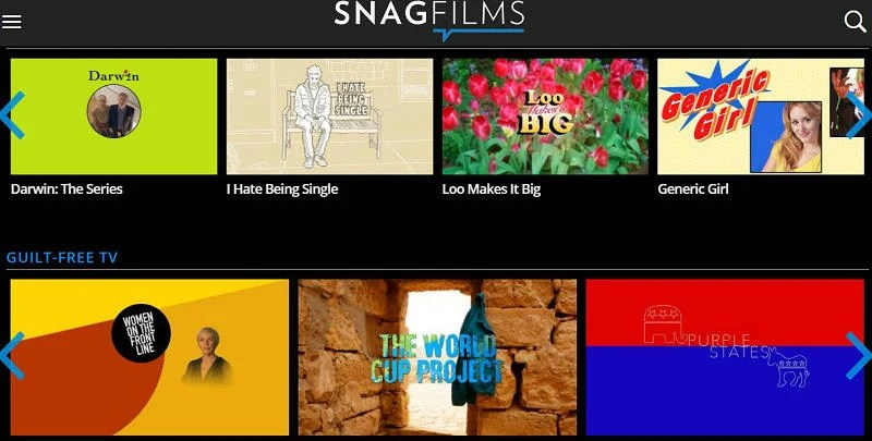 Snagfilms TV Show