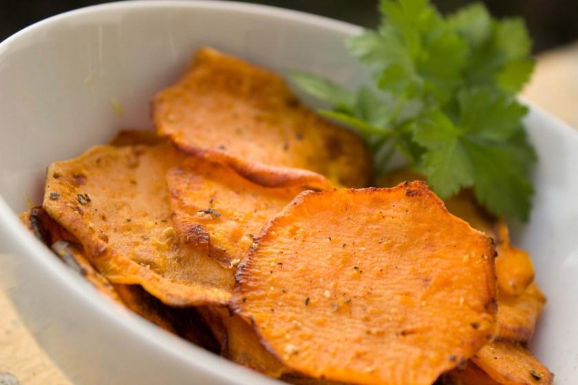 Sweet Potato Yam Chips