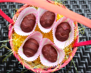 Raw Vegan Easter Egg Chocolates