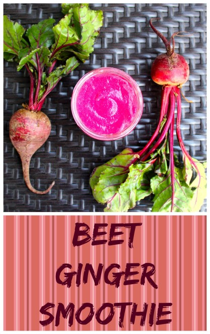 Heart Beet Ginger Smoothie