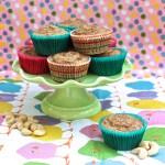 Cinnamon Cashew Blender Muffins (Low-Glycemic, Gluten-Free)