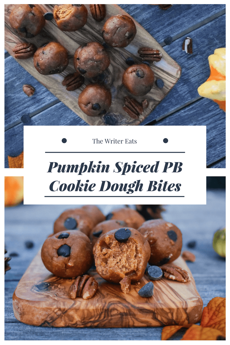 Pumpkin Spice PB Cookie Dough