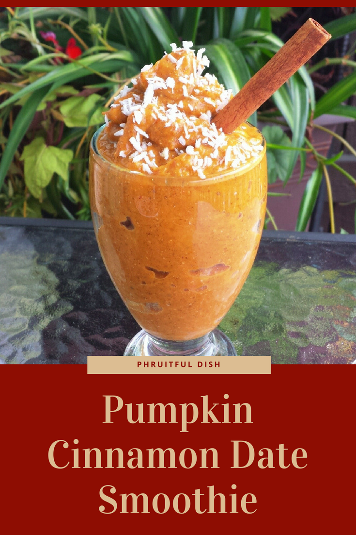 PUMPKIN CINNAMON DATE SMOOTHIE