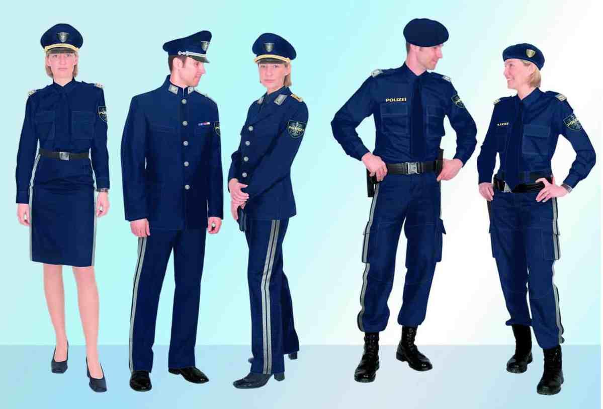 Uniformen der Österreichischen Polizei c Atelier Mungenast