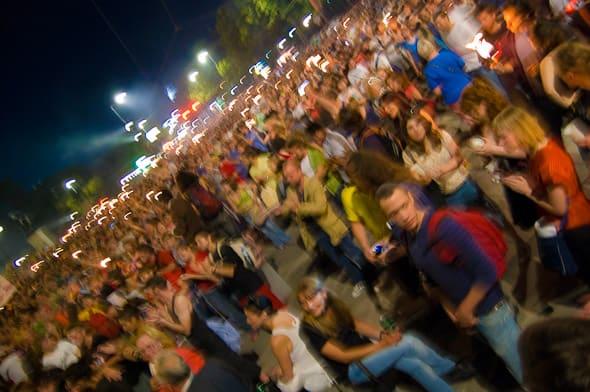 Kundgebung heißt jetzt Flashmob