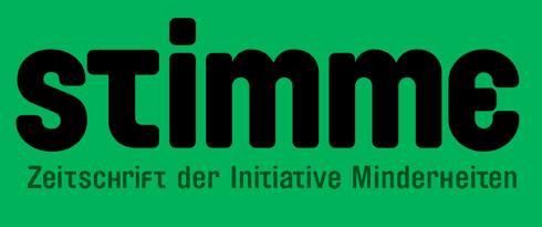Stimme Zeitschrift der Initiative Minderheiten