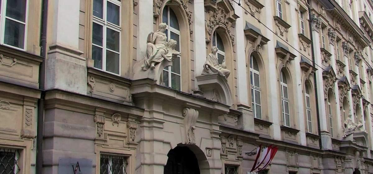 Das Palais Rottal in der Wiener Singerstrasse, Sitz der Volksanwaltschaft.