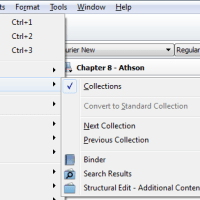 Using Scrivener Collections For Editing