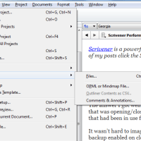 Scrivener Project Management: Don't Let the Beast Loose