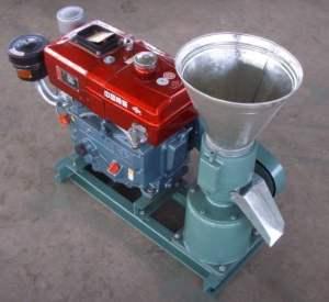 PASZLSP150A pellet mill (diesel)
