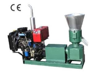 ZLSP260A pellet mill (diesel)
