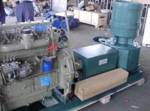 ZLSP300A pellet mill (diesel)