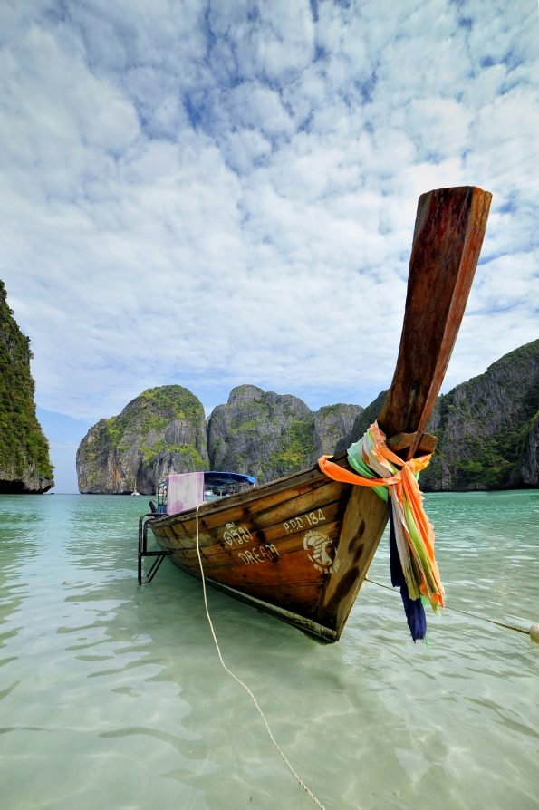 old fisherboat in Thailand