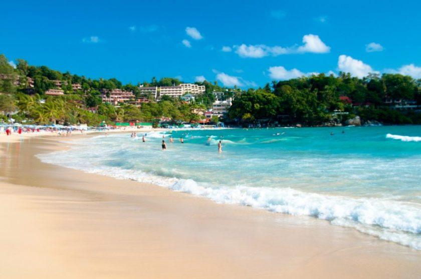 a popular Phuket beach