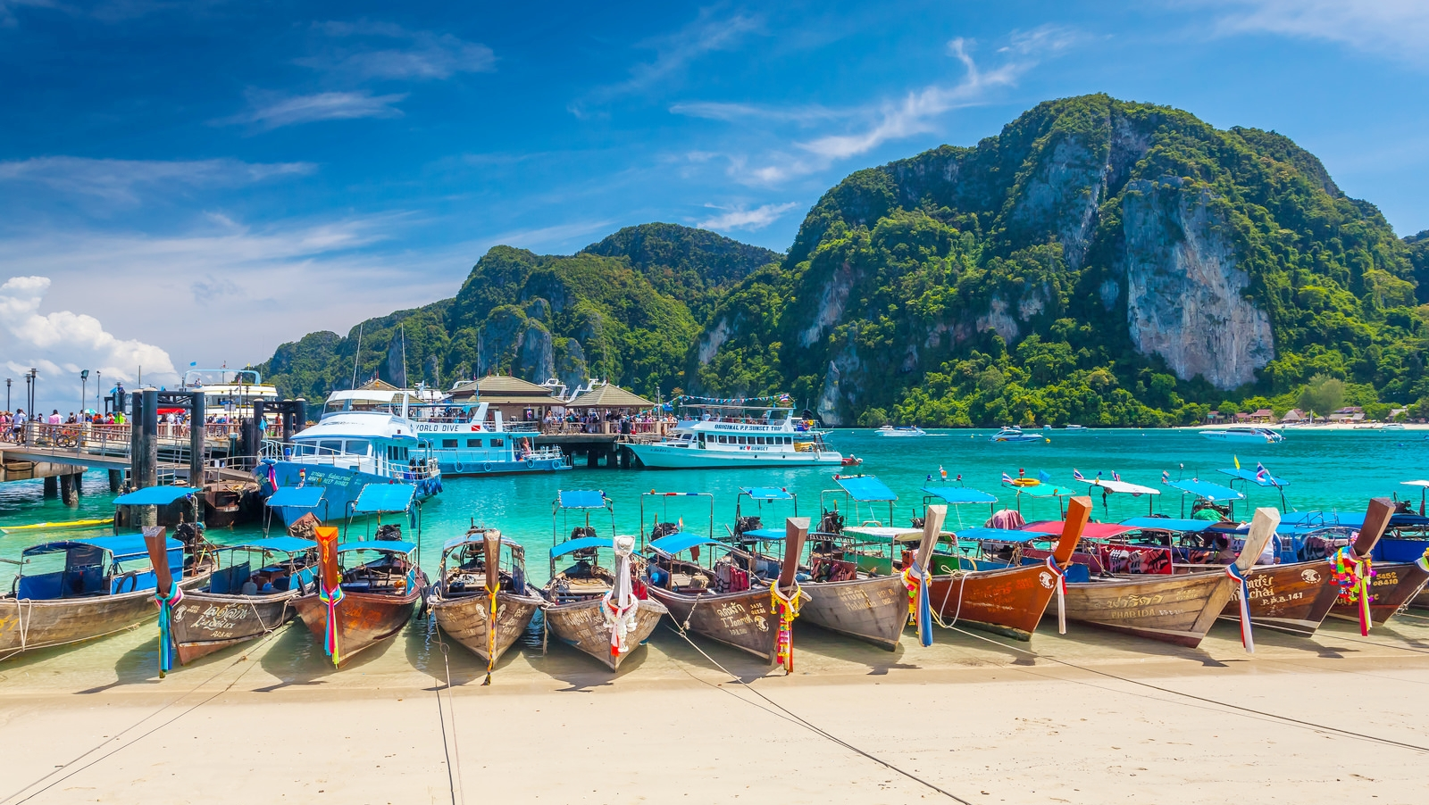 Phuket to Phi Phi by Boat