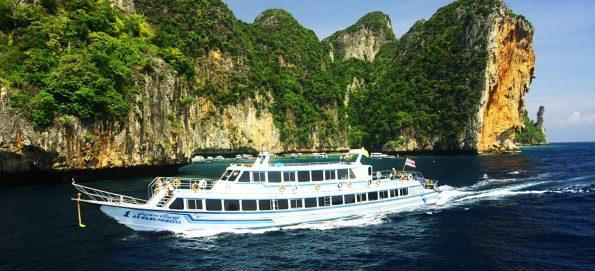 Ferry en route Phuket to Krabi