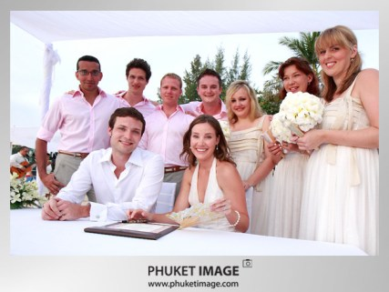 Destination Thailand wedding photographer - Phuket wedding image 019